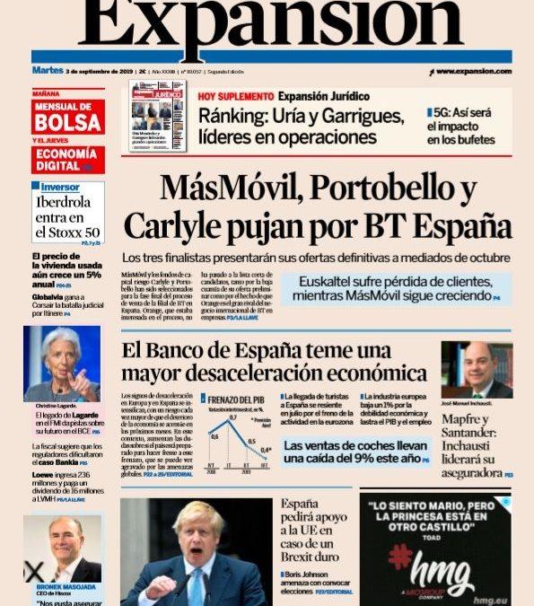 Hoy  #EnPortada de EXPANSIÓN