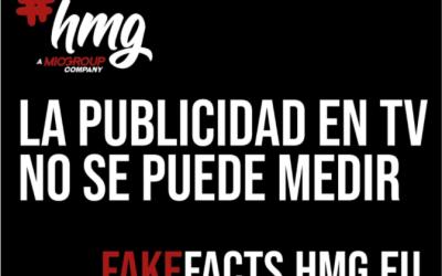 LA PUBLICIDAD EN TV NO SE PUEDE MEDIR